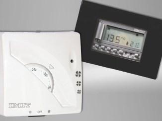 IMIT FAN TA3 e 503, termostati ambiente con regolazione Fan-Coil
