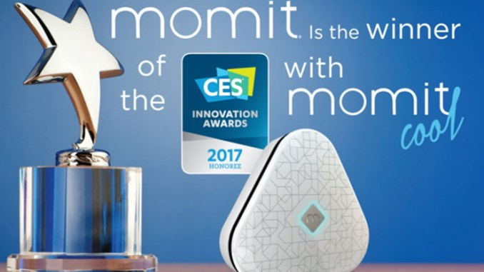 momit nominata Innovation Awards Honoree a CES 2017