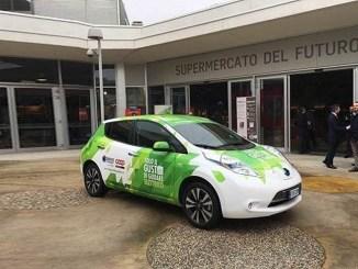 """Nissan e Coop, al via l'iniziativa """"il gusto di guidare elettrico"""""""