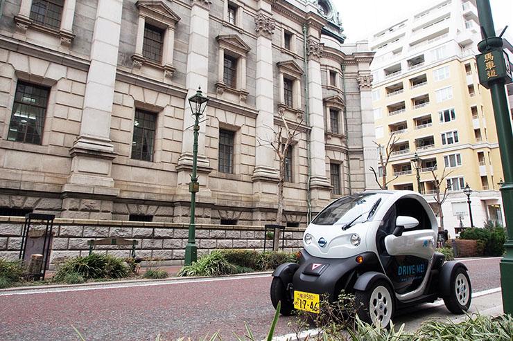 Nissan e la città di Yokohama promuovono il car sharing elettrico