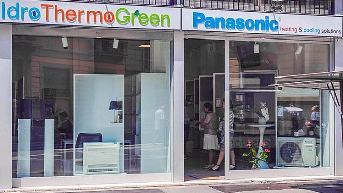 Panasonic vicina agli utenti finali, aperto lo showroom a Milano