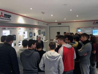 """""""Porte Aperte alla Scuola"""", Mitsubishi Electric dialoga con gli studenti"""