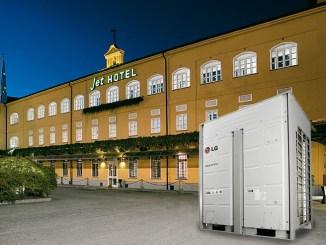 Jet Hotel, più efficienza con LG MultiV IV Heat Recovery
