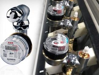 Qundis Valve Water Meter, kit di connessione per contatori ibridi