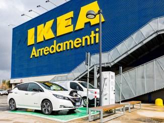 Roma Anagnina, Nissan e IKEA accelerano la mobilità elettrica