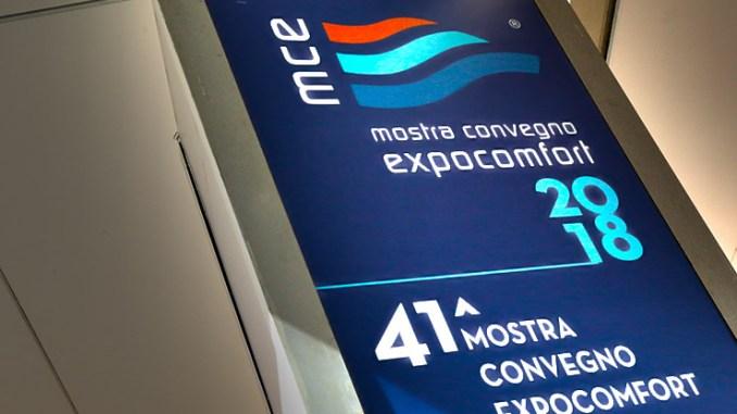 """Mostra Convegno Expocomfort 2018, i """"numeri"""" del comfort"""