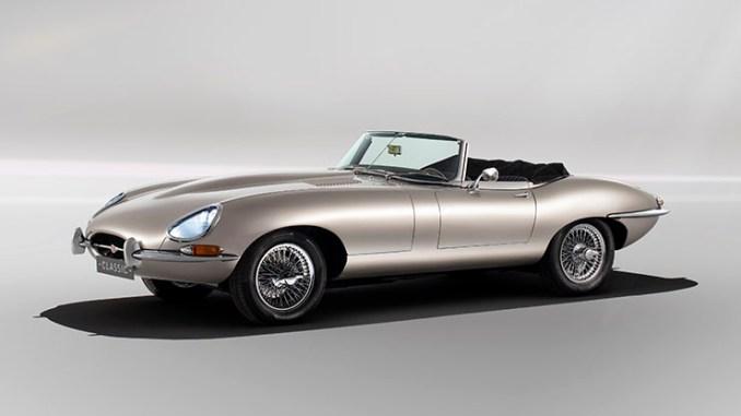 Jaguar realizzerà la E-type elettrica a zero emissioni
