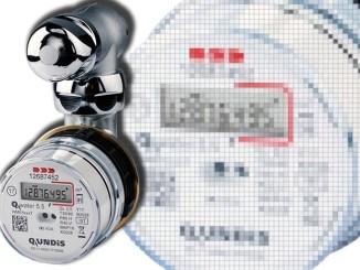 Qundis Q water 5.5 il contatore dell'acqua elettronico