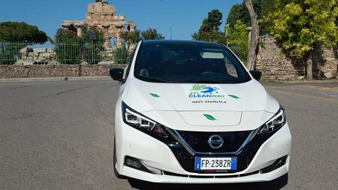 JTI Clean Way2018, sostenibilità e mobilità con Nissan Leaf