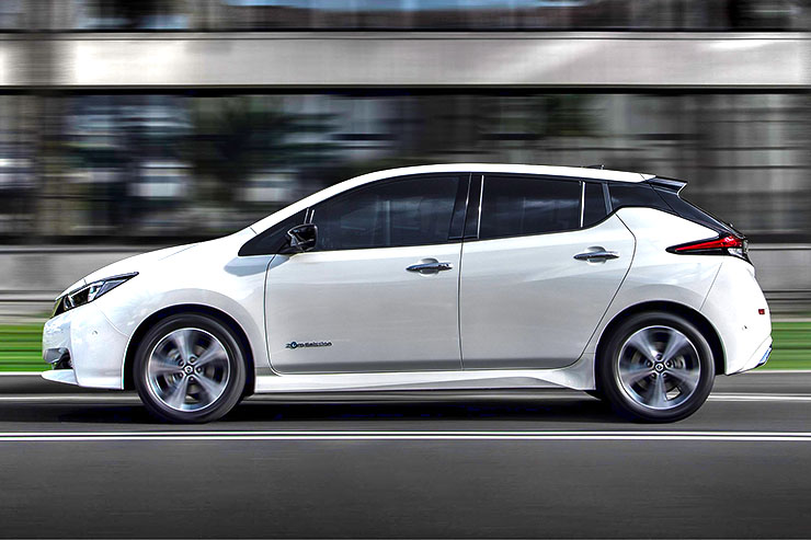 "Nissan LEAF protagonista del tour ""The Sonepar Future Road"""