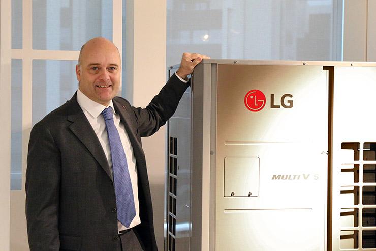 LG ACP 5: monitoraggio, configurazione e controllo intuitivi
