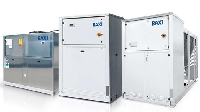 Baxi, nuovi refrigeratori di liquido e pompe di calore