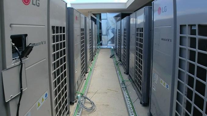 L'efficienza LG Multi V a Lisbona