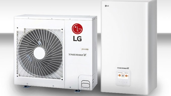LG Therma V Split con gas R32
