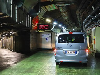 Il van elettrico Nissan e-NV200 Evalia è al servizio della ricerca