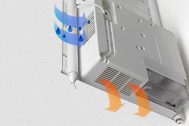 Radiatore con deumidificatore, il comfort di Deltacalor Drop