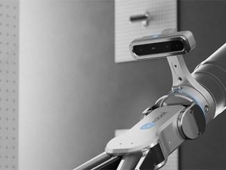 occhi, bracci robotici, robot, pinza, industry,