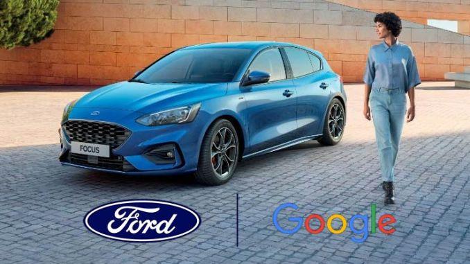 Partnership Ford Google