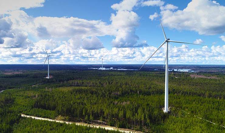 parco eolico Lyngsåsa