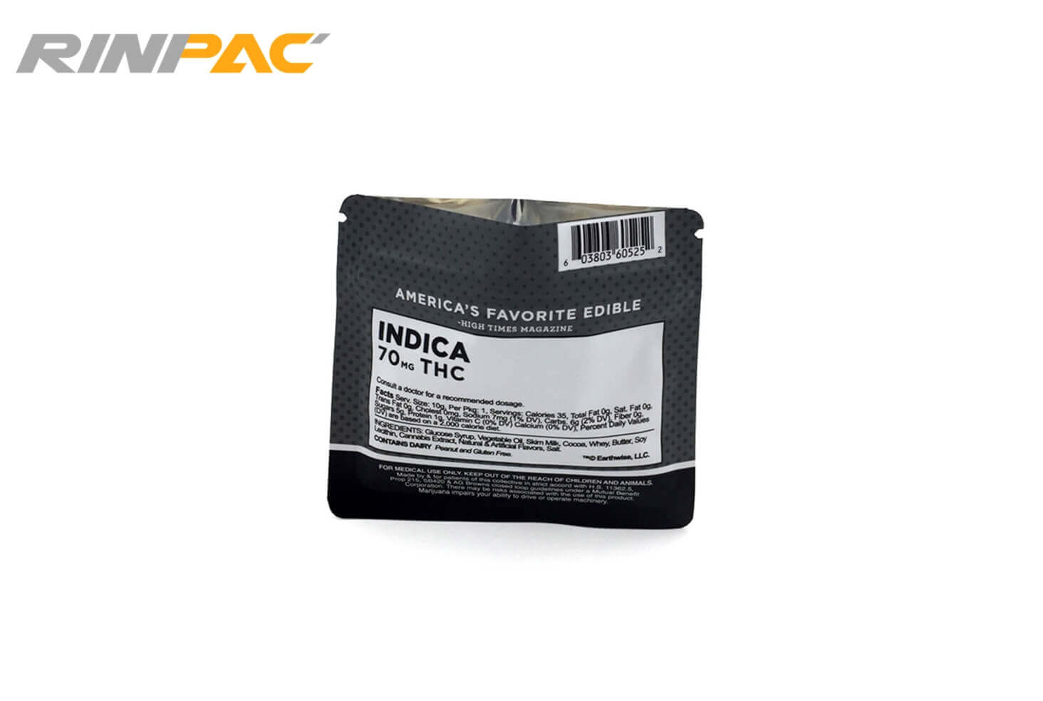 RinPAC 3 Side Seal Bags 2 - 3 side seal Pouches