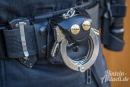 Schwerpunktkontrolle gegen Wohnungseinbrüche: Polizei nimmt Flüchtigen fest