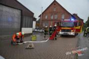 """Feuerwehr-Einsatzzug """"SEKA"""" übt Ernstfall in der Lackiererei"""