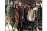 Weihnachtsfeier in der Flüchtlingsunterkunft im Kerschensteinerweg