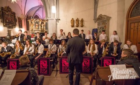 08 rintelnaktuell gymnasium ernestinum weihnachtskonzert bigband musici ernesti blaeserklasse hausband abichor 2017 nikolai kirche