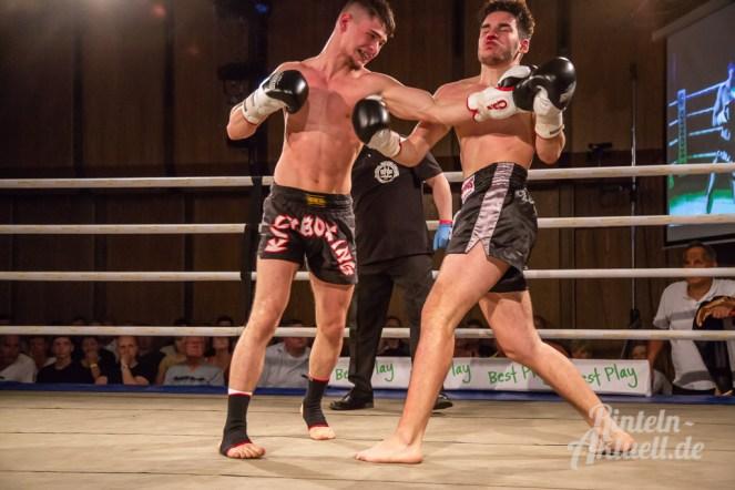 04 rintelnaktuell vorprogramm abend kickboxen frauenboxen profiboxen piergiulio ruhe sport brueckentorsaal boxring event waru kampf gegner runden