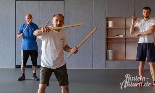02 rintelnaktuell kerlgesund maennersporttag bkk24 kreissportbund ksb fitness modern arnis bootcamp kanu klettern bewegung aktion 22.6.19