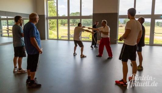 06 rintelnaktuell kerlgesund maennersporttag bkk24 kreissportbund ksb fitness modern arnis bootcamp kanu klettern bewegung aktion 22.6.19