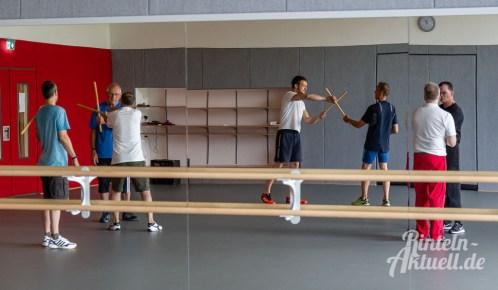 10 rintelnaktuell kerlgesund maennersporttag bkk24 kreissportbund ksb fitness modern arnis bootcamp kanu klettern bewegung aktion 22.6.19