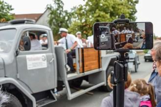 02 rintelnaktuell exten schuetzenfest schlacht exterfeld 2019 eolendoerper gruene schwarze napoleon wasser gaudi event veranstaltung