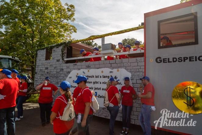 05 rintelnaktuell moellenbeck erntefest 2019 erntewagen ernteumzug dorf feier party