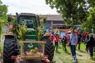 53 rintelnaktuell moellenbeck erntefest 2019 erntewagen ernteumzug dorf feier party
