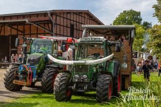 69 rintelnaktuell moellenbeck erntefest 2019 erntewagen ernteumzug dorf feier party