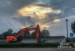 31 rintelnaktuell igs neubau schulzentrum burgfeldsweide bagger baubeginn oktober 2019