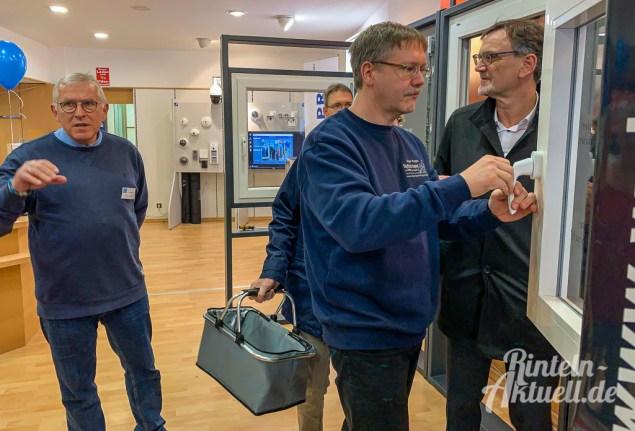 04 rintelnaktuell ausstellung polizei handwerk einbruchschutz marktplatz 2019