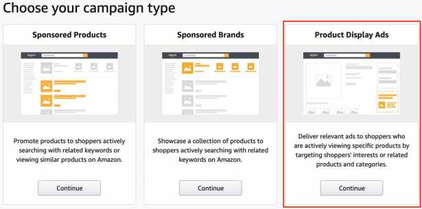 How to Create Amazon Product Display Ads