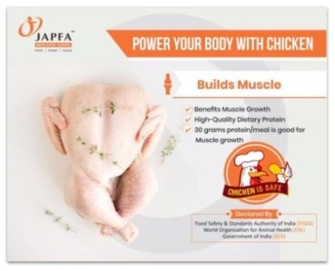 Chicken Builds Muscle