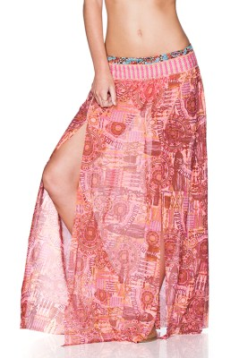South Pacific Sunrise Skirt