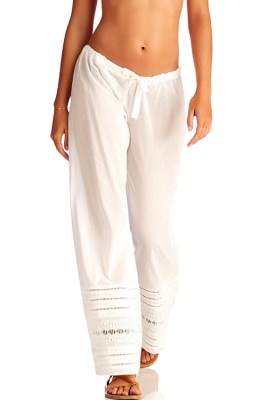 White Gold Coast Malia Pant