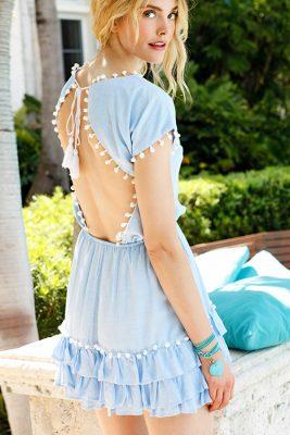 Nissi Pom Pom Dress LIF