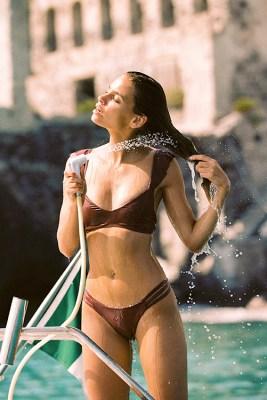 Currant Harper Bikini Top Rose Bottom Bikini LIF4