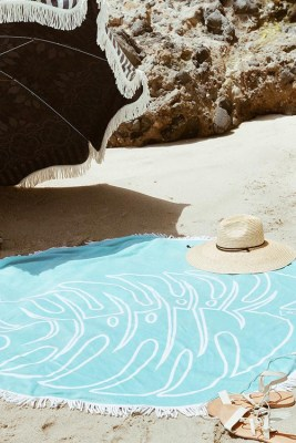 Turquoise Slippa Beach Towel_2