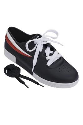 Melissa + Fila Sneaker Black White