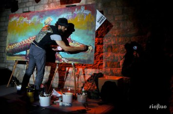 Offrez-vous une performance live des meilleurs artistes issus de l'univers du street art pour apporter la touche « arty » qu'il vous manquait creation-live,riofluo, live painting, street-art, france, graffiti, art urbain, peinture, performance, ile de france, artistique, artiste, graffeur