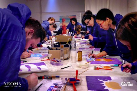 team building Art - Fédérez autour du street art