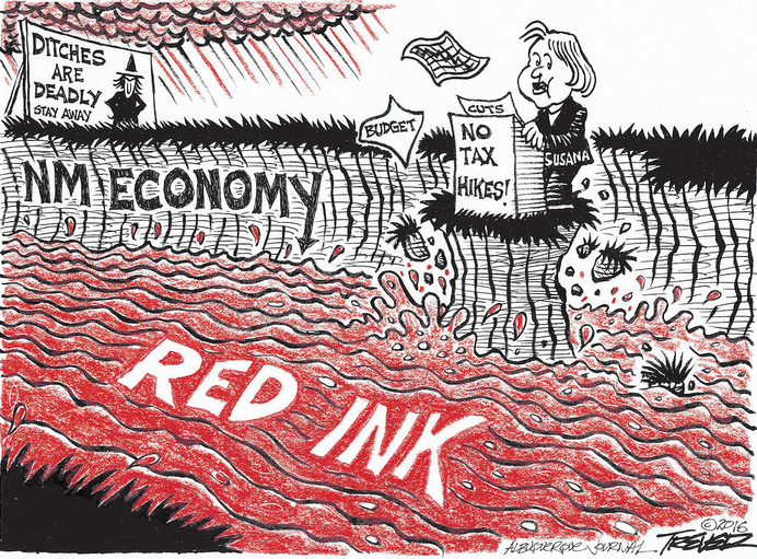 Enough with the happy talk about New Mexico's economy