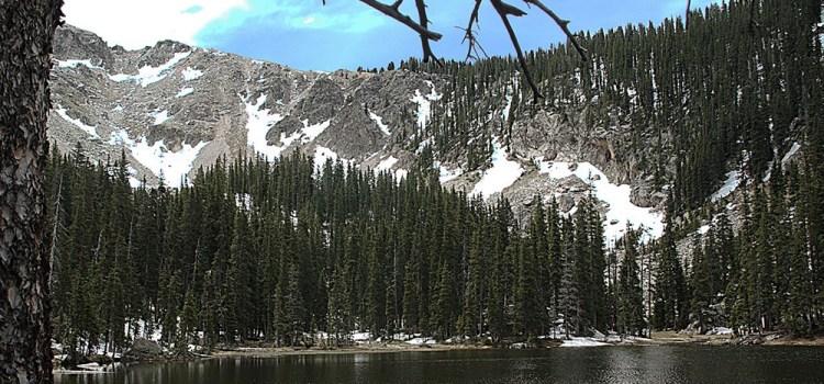 Nambé Lake in the Pecos